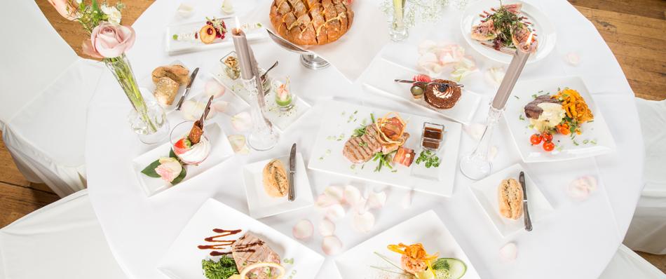 Het lekkerste eten op uw trouwdag
