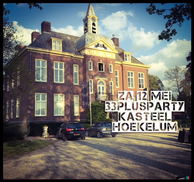 33 plus party Kasteel Hoekelum