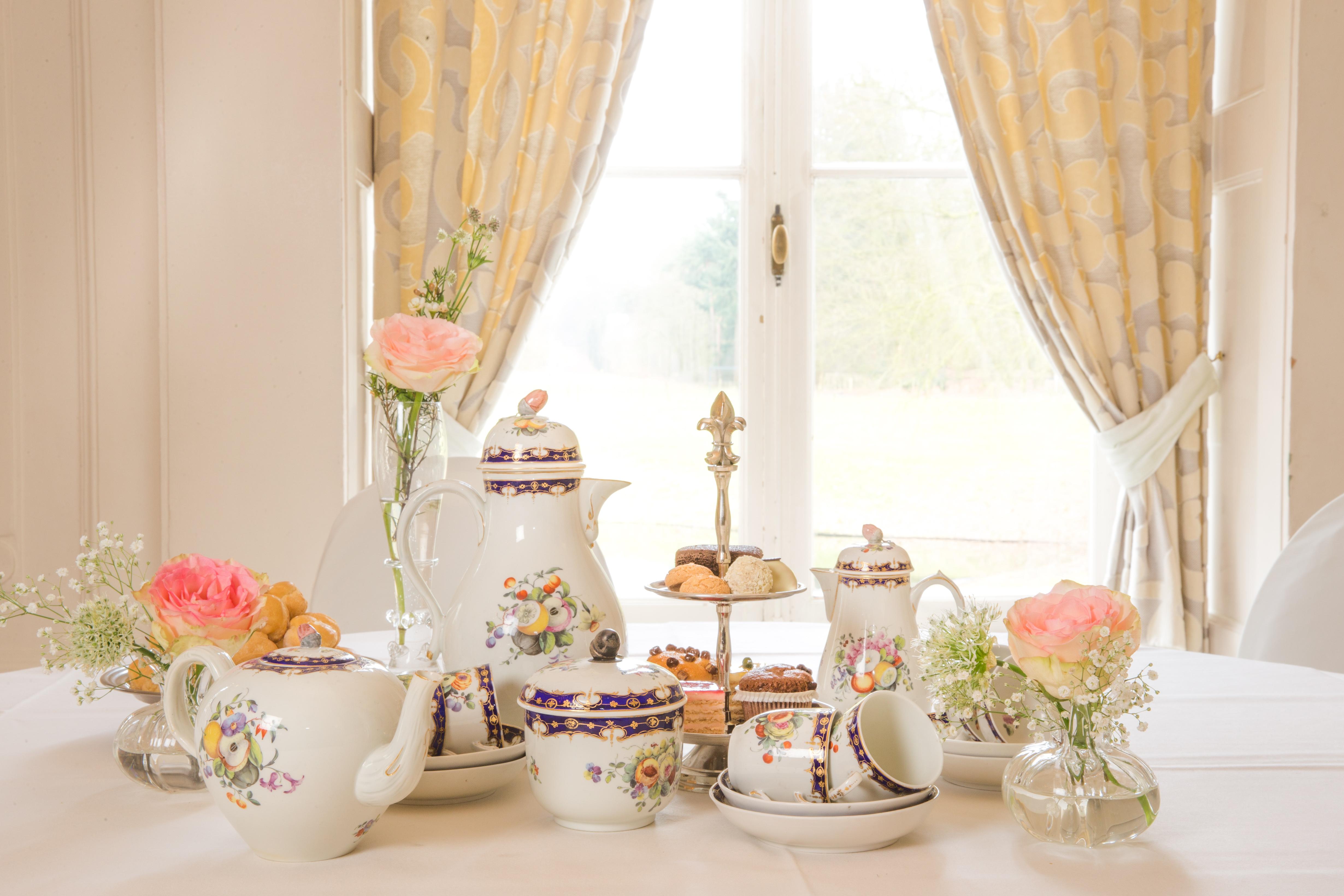 High tea in Kerstsfeer in het Kasteel